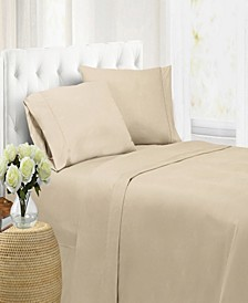 Ultra Soft Microfiber Double Brushed Blissful Dreams Queen Sheet Set