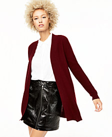 Charter Club Nicki Cashmere Open-Front Cardigan, Regular & Petite Sizes, Created for Macy's