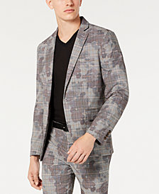INC Men's Slim-Fit Camo Blazer, Created for Macy's