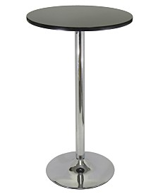 "Winsome Wood Spectrum 24"" Round Pub Table"