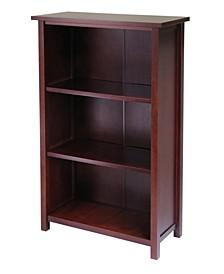 Milan 4-Tier Medium Storage Shelf/Bookcase