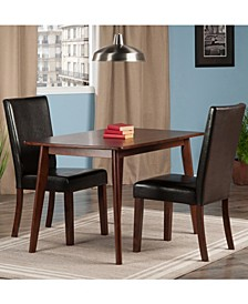 Shaye 3-Piece Dining Table with Chairs Set