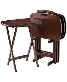 Winsome Wood Lucca 5-Piece Snack Table Set