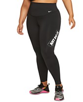 8658aa59776609 Nike Plus Size One Dri-FIT Training Leggings