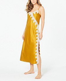 INC Women's Lace-Trim Nightgown, Created for Macy's