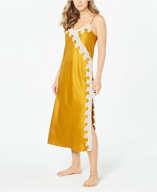 INC International Concepts INC Women's Lace-Trim Nightgown, Created for Macy's