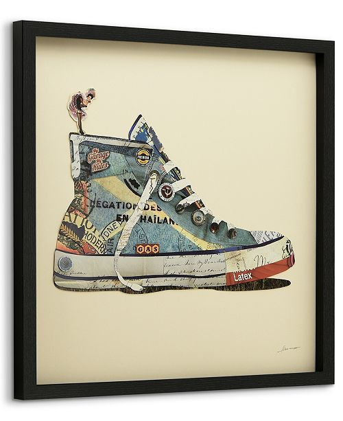 Empire Art Direct 'High Top Sneaker' Dimensional Collage