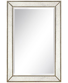 """Empire Art Direct Solid Wood Frame Covered with Beveled Antique Mirror Panels - 24"""" x 36"""""""