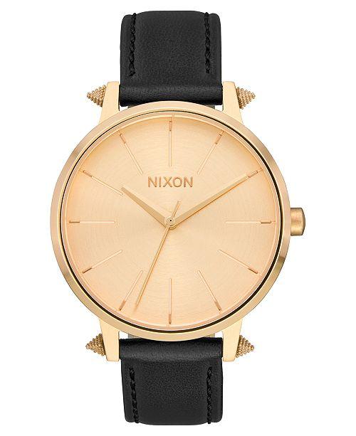 Nixon Women's Kensington Leather Strap Watch 37mm