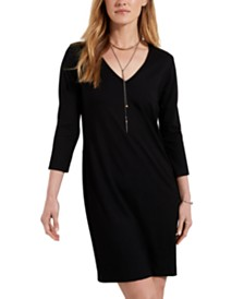 Karen Kane Jane A-Line Jersey Dress