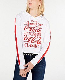 Juniors' Coca-Cola Graphic Hoodie