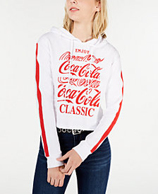 Love Tribe Juniors' Coca-Cola Graphic Hoodie