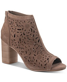 Glia Suede Shooties, Created for Macy's