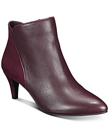 Women's Harpper Kitten-Heel Booties, Created for Macy's