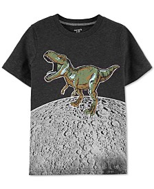 Carter's Little & Big Boys Dino-Print Glow-In-The-Dark T-Shirt