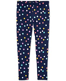 Carter's Little & Big Girls Dot-Print Leggings