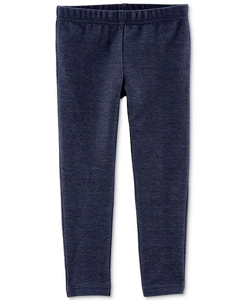 Carter's Toddler Girls Denim Leggings
