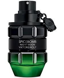 Men's Spicebomb Night Vision Eau de Toilette Spray, 3.04-oz.