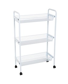 Simplify Deluxe 3 Tier Rolling Storage Cart