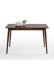 Jen Mid-Century Modern Wood Dining Table