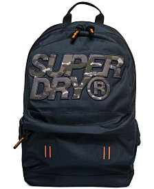 Superdry Men's Montana Camo-Logo Backpack