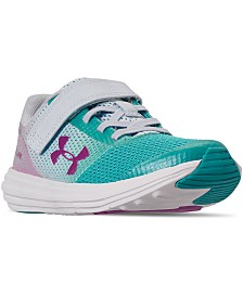 Under Armour Little Girls Surge AC Stay-Put Closure Running Sneakers from Finish Line