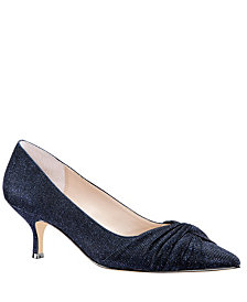 Nina Tamlyn Pump With Knot Details