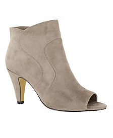 Noah II Open Toe Dress Booties