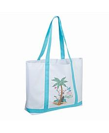 Let the Fun Begin Beach Bag Tote