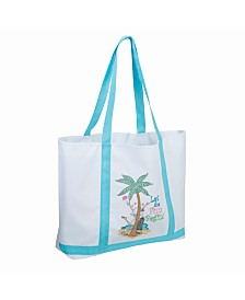 Lillian Rose Let the Fun Begin Beach Bag Tote