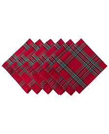 Holiday Plaid Napkin, Set of 6