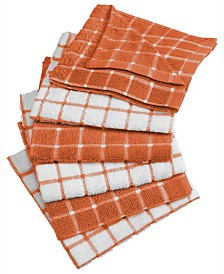 Spice Combo Windowpane Dishcloth, Set of 6