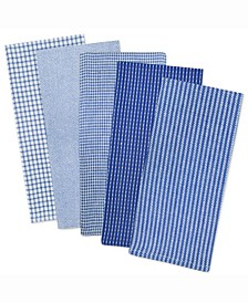 Assorted Dishtowel, Set of 5
