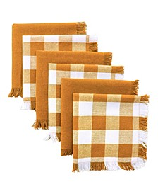 Assorted Spice Heavyweight Fringed Dishcloth, Set of 6