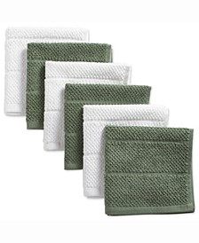 Assorted Basic Chef Terry Dishcloth, Set of 6