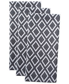 Diamond Dishtowel, Set of 3