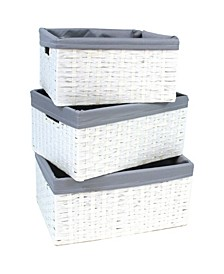 Redmon 3 Piece Basket Set
