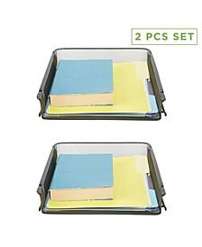 2-Pc. Desktop Organizer & Tray