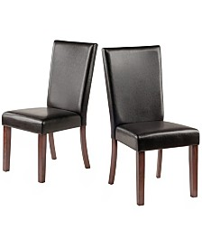 Winsome Wood Johnson 2-Piece Chair Set