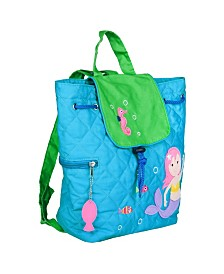 Wildkin Mermaids Quilted Backpack
