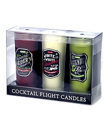 """DecoFlair Holiday Cocktail Flight - """"Have Yourself A Merry Little Cocktail"""" Candle"""