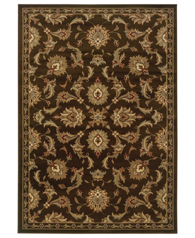 CLOSEOUT! Oriental Weavers Rugs, Pember 1330N Meshed Brown