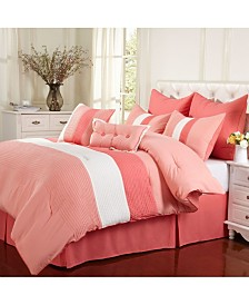 Superior Florence 8 Piece Bedding Set - California King