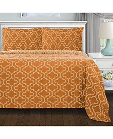 Superior Flannel Cotton Duvet Cover Set - King/California King