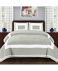 Superior Grammercy 3 Piece Bedding Set - Full/Queen