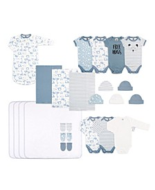 Baby Unisex Essentials Gift Set, 23-Piece