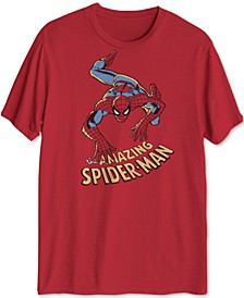 Spider-Man Crawl Down Men's Graphic T-Shirt