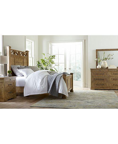Furniture Trisha Yearwood Homecoming Wheat Post Bedroom Collection