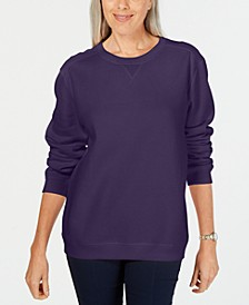 Long-Sleeve Crewneck Sweatshirt, Created for Macy's