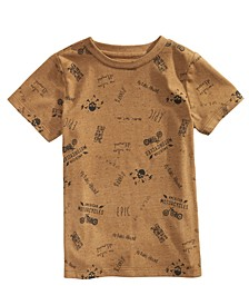 Little Boys Motorcycle T-Shirt, Created for Macy's